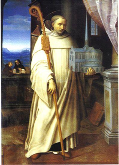 Saint Bernard de Clervaux (abbé) dans immagini sacre gztizzly